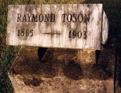 TOSON, RAYMOND - Madison County, Iowa   RAYMOND TOSON