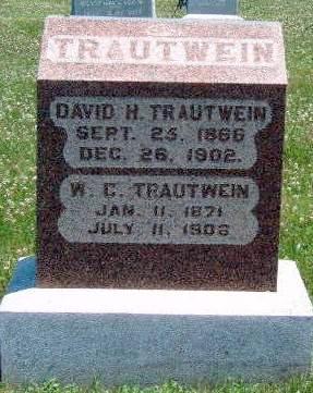 TRAUTWEIN, DAVID H. - Madison County, Iowa | DAVID H. TRAUTWEIN