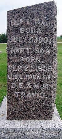 TRAVIS, INFANT DAUGHTER - Madison County, Iowa | INFANT DAUGHTER TRAVIS