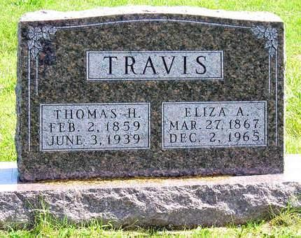 TRAVIS, ELIZA ALICE - Madison County, Iowa | ELIZA ALICE TRAVIS