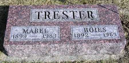 TRESTER, BOIES - Madison County, Iowa | BOIES TRESTER
