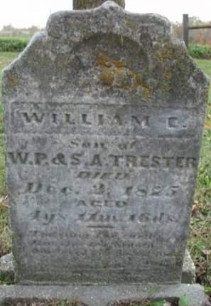TRESTER, WILLIAM E. - Madison County, Iowa | WILLIAM E. TRESTER