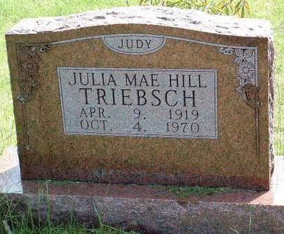TRIEBSCH, JULIA MAE
