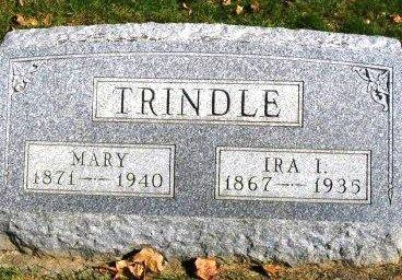 TRINDLE, MARY - Madison County, Iowa | MARY TRINDLE