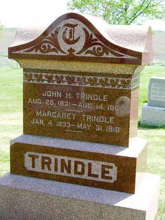 TRINDLE, MARGARET - Madison County, Iowa   MARGARET TRINDLE