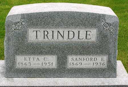 TRINDLE, SANFORD E. - Madison County, Iowa | SANFORD E. TRINDLE