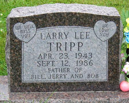 TRIPP, LARRY LEE - Madison County, Iowa | LARRY LEE TRIPP