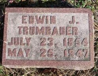 TRUMBAUER, EDWIN J. - Madison County, Iowa | EDWIN J. TRUMBAUER