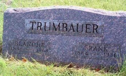 TRUMBAUER, BLANCHE L. - Madison County, Iowa | BLANCHE L. TRUMBAUER