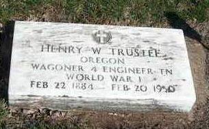 TRUSTEE, HENRY WILLIAM - Madison County, Iowa | HENRY WILLIAM TRUSTEE