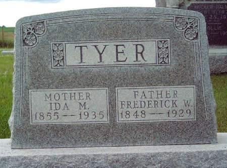 TYER, IDA MAY - Madison County, Iowa | IDA MAY TYER