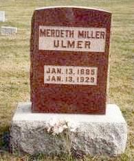 ULMER, OLIVE MERDETH - Madison County, Iowa   OLIVE MERDETH ULMER