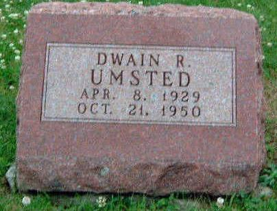 UMSTED, DWAIN R - Madison County, Iowa | DWAIN R UMSTED