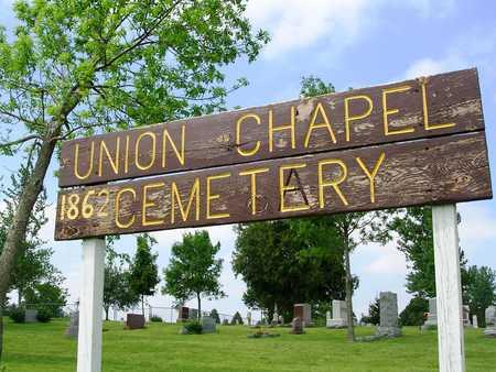 UNION CHAPEL - JEFFERSON TWP., CEMETERY - Madison County, Iowa | CEMETERY UNION CHAPEL - JEFFERSON TWP.