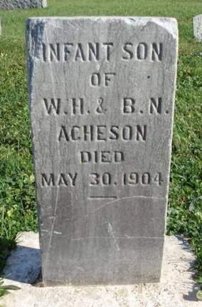 ACHESON, INFANT - Madison County, Iowa | INFANT ACHESON