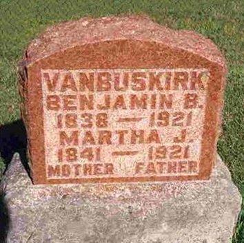 VAN BUSKIRK, MARTHA JANE - Madison County, Iowa | MARTHA JANE VAN BUSKIRK