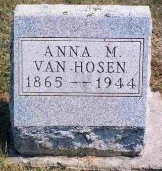 VANHOSEN, ANNA MAY - Madison County, Iowa | ANNA MAY VANHOSEN