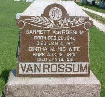 VAN ROSSUM, JOHN GARRETT - Madison County, Iowa | JOHN GARRETT VAN ROSSUM