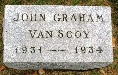 VAN SCOY, JOHN GRAHAM - Madison County, Iowa | JOHN GRAHAM VAN SCOY
