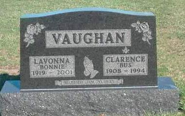 VAUGHAN, CLARENCE WEST