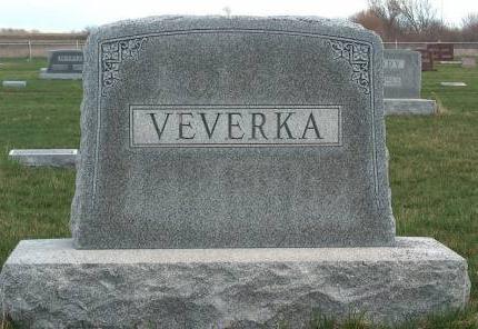 VEVERKA, FAMILY STONE - Madison County, Iowa | FAMILY STONE VEVERKA
