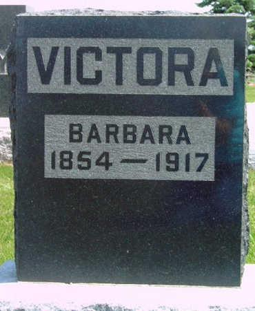 VICTORA, BARBARA P. - Madison County, Iowa | BARBARA P. VICTORA