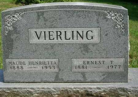 VIERLING, ERNEST TRUMAN - Madison County, Iowa | ERNEST TRUMAN VIERLING