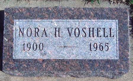 VOSHELL, NORA H. - Madison County, Iowa | NORA H. VOSHELL
