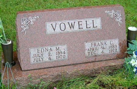 VOWELL, EDNA MILDRED - Madison County, Iowa | EDNA MILDRED VOWELL