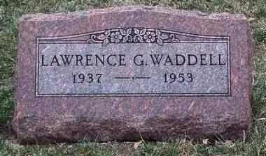 WADDELL, LAWERNCE GERALD - Madison County, Iowa | LAWERNCE GERALD WADDELL