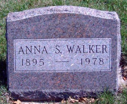 WALKER, ANNA S - Madison County, Iowa | ANNA S WALKER