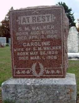 WALKER, SAMUEL M. - Madison County, Iowa | SAMUEL M. WALKER