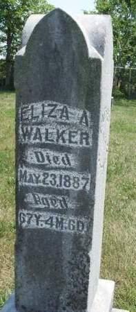 WALKER, ELIZA A. - Madison County, Iowa | ELIZA A. WALKER