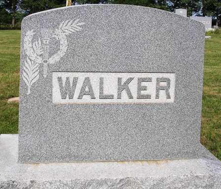 WALKER, FAMILY HEADSTONE - Madison County, Iowa | FAMILY HEADSTONE WALKER