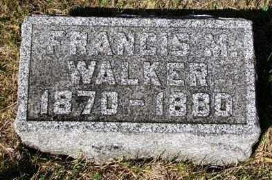 WALKER, FRANCIS MARY - Madison County, Iowa | FRANCIS MARY WALKER