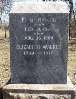WALKER, FREDRICK M. - Madison County, Iowa | FREDRICK M. WALKER