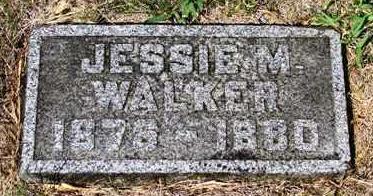 WALKER, JESSIE MAY - Madison County, Iowa   JESSIE MAY WALKER