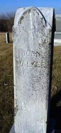 WALKER, JOHN - Madison County, Iowa | JOHN WALKER