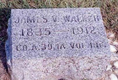 WALKER, JAMES VANCE - Madison County, Iowa   JAMES VANCE WALKER