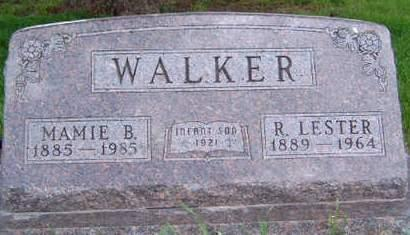 WALKER, MAMIE BELLE - Madison County, Iowa | MAMIE BELLE WALKER