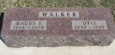 WALKER, MAUDE ELIZABETH - Madison County, Iowa | MAUDE ELIZABETH WALKER
