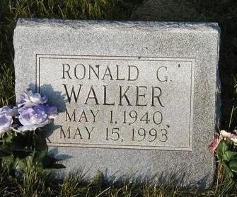 WALKER, RONALD GENE - Madison County, Iowa | RONALD GENE WALKER
