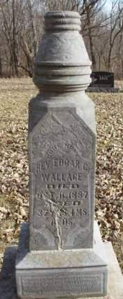 WALLACE, EDGAR C., REV. - Madison County, Iowa | EDGAR C., REV. WALLACE
