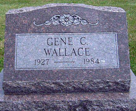WALLACE, GENE CARROLL - Madison County, Iowa   GENE CARROLL WALLACE