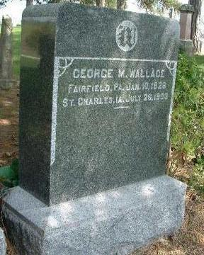 WALLACE, GEORGE MCWHERTER - Madison County, Iowa | GEORGE MCWHERTER WALLACE