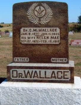 WALLACE, CHARLES MELVIN  (DR.) - Madison County, Iowa | CHARLES MELVIN  (DR.) WALLACE