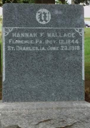 WALLACE, HANNAH FUTHA - Madison County, Iowa | HANNAH FUTHA WALLACE