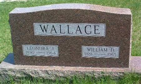WALLACE, LEONORA JANE - Madison County, Iowa   LEONORA JANE WALLACE