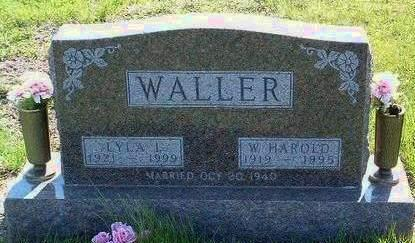 WALLER, WILLIAM HAROLD - Madison County, Iowa | WILLIAM HAROLD WALLER