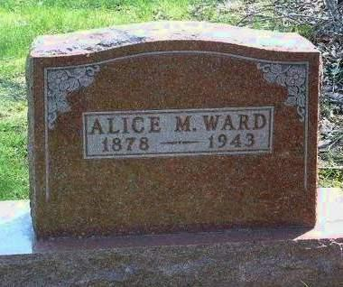 WARD, ALICE MAE - Madison County, Iowa | ALICE MAE WARD